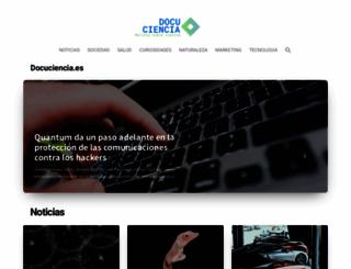 docuciencia.es screenshot