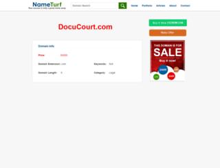 docucourt.com screenshot
