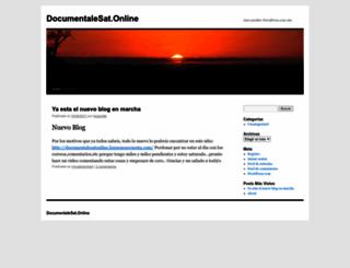 documentalesat.wordpress.com screenshot