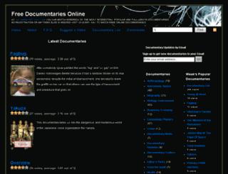 documentary-log.com screenshot