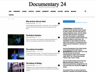 documentary24.com screenshot