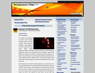 documentaryfilms.net screenshot