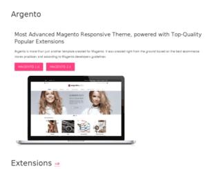 documentation.argentotheme.com screenshot