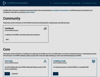 documentation.civicrm.org screenshot