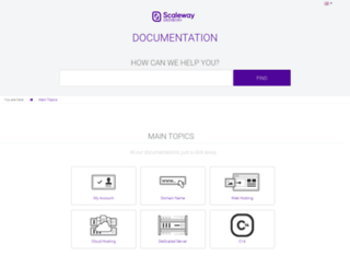 documentation.dedibox.fr screenshot