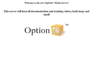 documentation.optionc.com screenshot