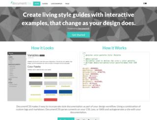 documentcss.com screenshot