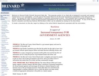 documents.brevardschools.org screenshot
