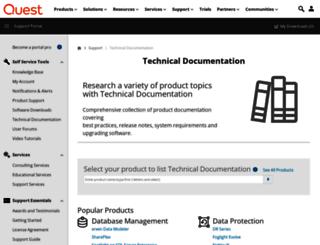 documents.quest.com screenshot