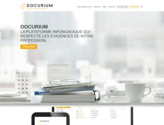 docurium.ca screenshot