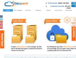 docusaver.co.nz screenshot