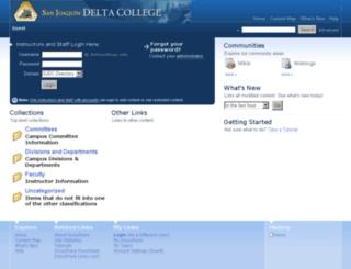 docushare.deltacollege.edu screenshot