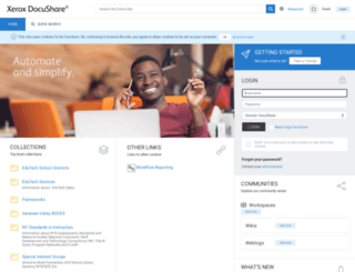 docushare.edutech.org screenshot