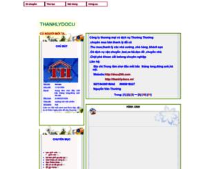 docuthanhly.blogtiengviet.net screenshot