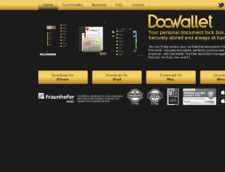 docwallet.com screenshot