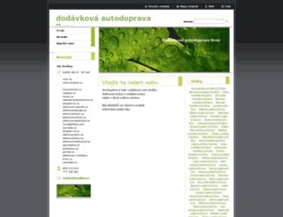 dodavkova-autodoprava-brno.webnode.cz screenshot