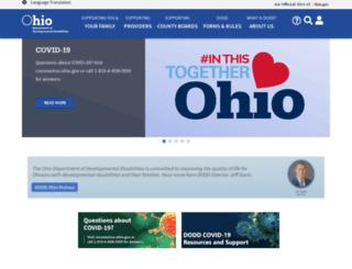 dodd.ohio.gov screenshot