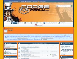 dodge-forum.com screenshot