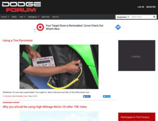 dodgeforum.com screenshot