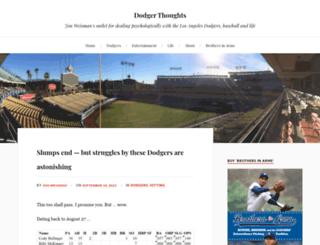 dodgerthoughts.com screenshot