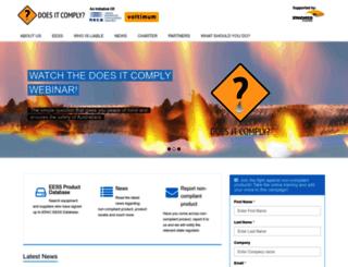 doesitcomply.com.au screenshot