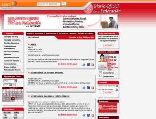 dof.terra.com.mx screenshot