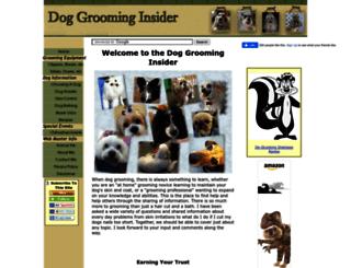 dog-grooming-insider.com screenshot