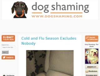 dog-shaming.com screenshot