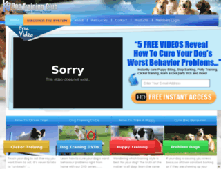 dog-training-online.info screenshot