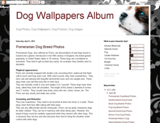 dog-wallpapers-album.blogspot.com screenshot