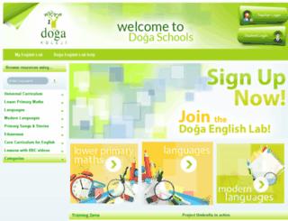 dogaenglishlab.com screenshot