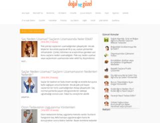 dogalveguzel.com screenshot