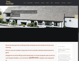 dogandpartridge.co.uk screenshot