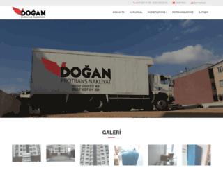 doganprotrans.com screenshot