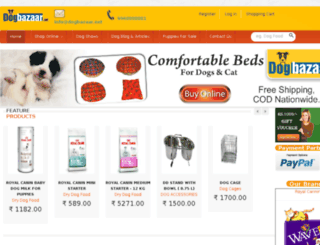 dogbazaar.net screenshot