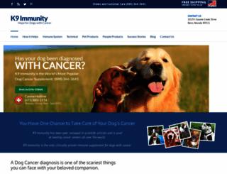 dogcancer.net screenshot