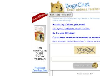 dogechet.net screenshot