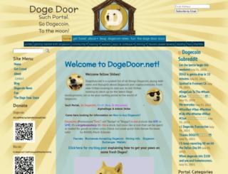 dogedoor.net screenshot