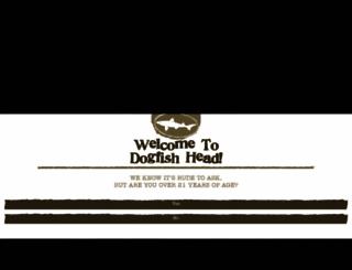 dogfish.com screenshot