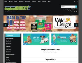 dogfooddirect.com screenshot