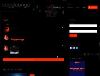 dogglounge.com screenshot