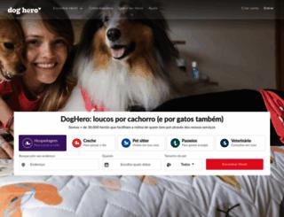 doghero.com.br screenshot