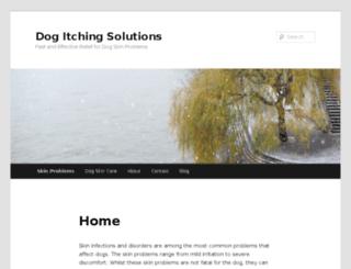 dogitchyskinsolutions.com screenshot