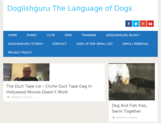doglishguru.com screenshot