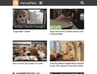 dogmom.venuspets.com screenshot