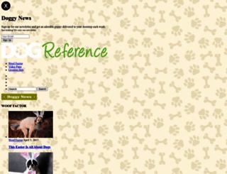dogreference.com screenshot