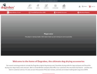 dogrobes.co.uk screenshot