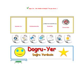 dogru-yer.tr.gg screenshot