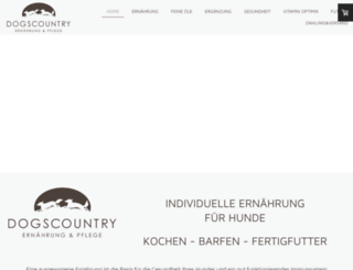 dogs-country.de screenshot