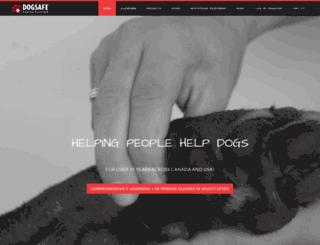 dogsafe.ca screenshot